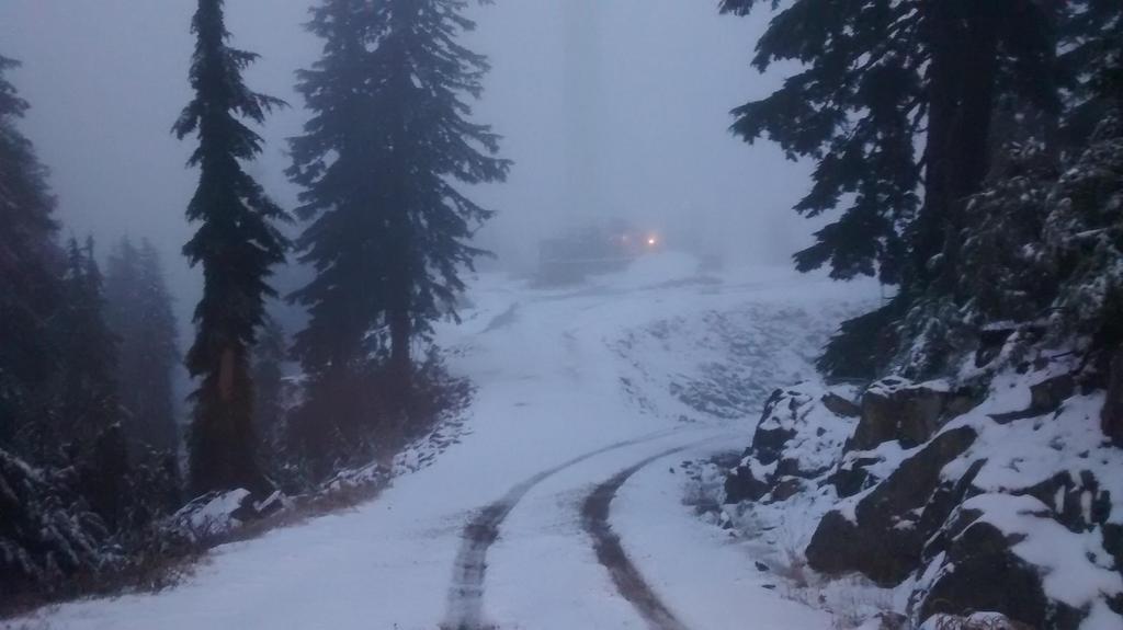 Grouse Mountain snow1
