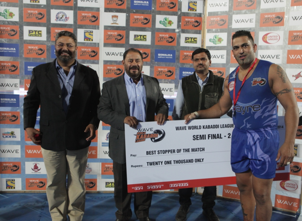 WKL Semi Final 2 - Best Stopper of the Match - Sandeep Singh Sandhu of United Singhs