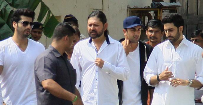 arjunkapoor-ranbir-abhishek at ravi chopra