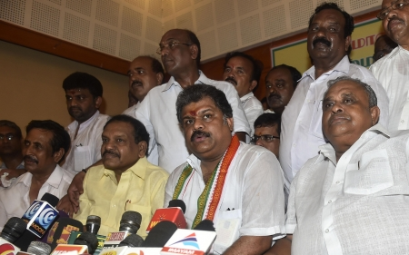 congress split in tamil nadu