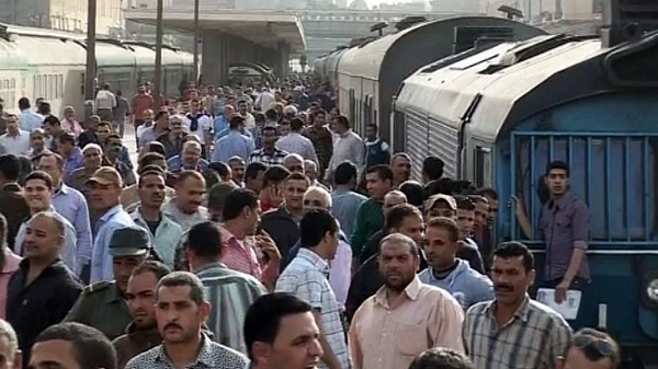 egypt train blast