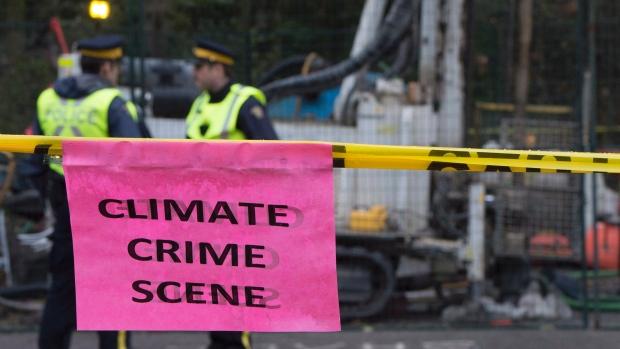 kinder morgan climate crime scene