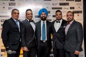 Partners of Surrey Night Market- from left to right - Jack Hundial, Gary Grewal, Satbir Cheema, Jazz Narula and Harry Kooner.