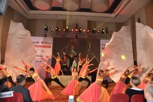 Shiamak performing at the event