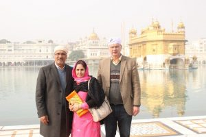 BRUCE RALSTON AND HARRY BAINS IN INDIA
