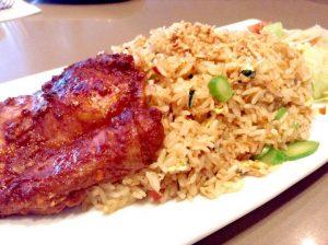 Thai Style BBQ Chicken Fried Rice