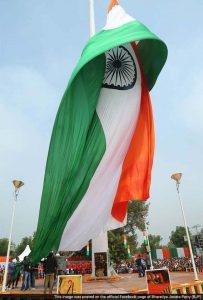 world s tallest flag indian flag