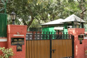 search warrant for Parrikar's residence
