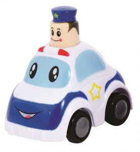 SCHYLLING_PAG_POLICE Police Press & Go Toy Vehicle