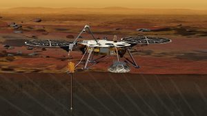 The InSight lander is about the size of a car and will be the first mission devoted to understanding the interior structure of the Red Planet. (Photo Courtesy: NASA)
