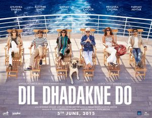 A poster of Dil Dhadakne Do