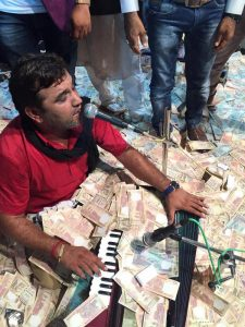 KIRTIDAN GADHVI's songs get Rs.45 million donations! Photo: IANS