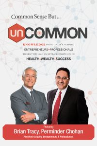Uncommon Book Cover Brian Tracy and Perminder Chohan