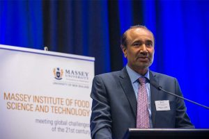 Harjinder Singh, the head of Massey University's Institute of Food Science and Technology.  (Photo: www.massey.ac.nz)
