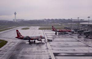 New Malaysia airport sinking