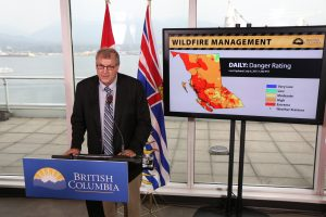British Columbia Forests Minister Steve Thomson. Photo: BC Newsroom