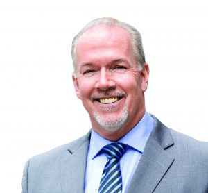 John Horgan Leader of the B.C. New Democrats