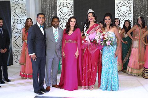 Manasvi Noel crowned Miss India-Canada 2015. Photo: IANS