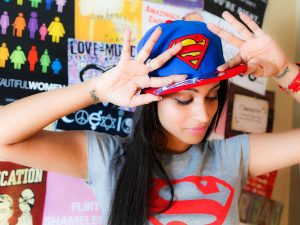 Lilly Singh superwoman