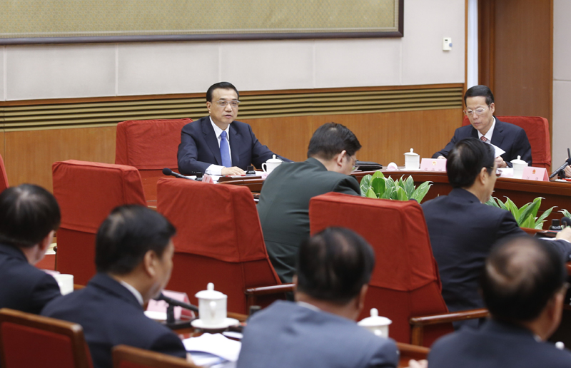 State Council executive meeting presided over by Premier Li Keqiang