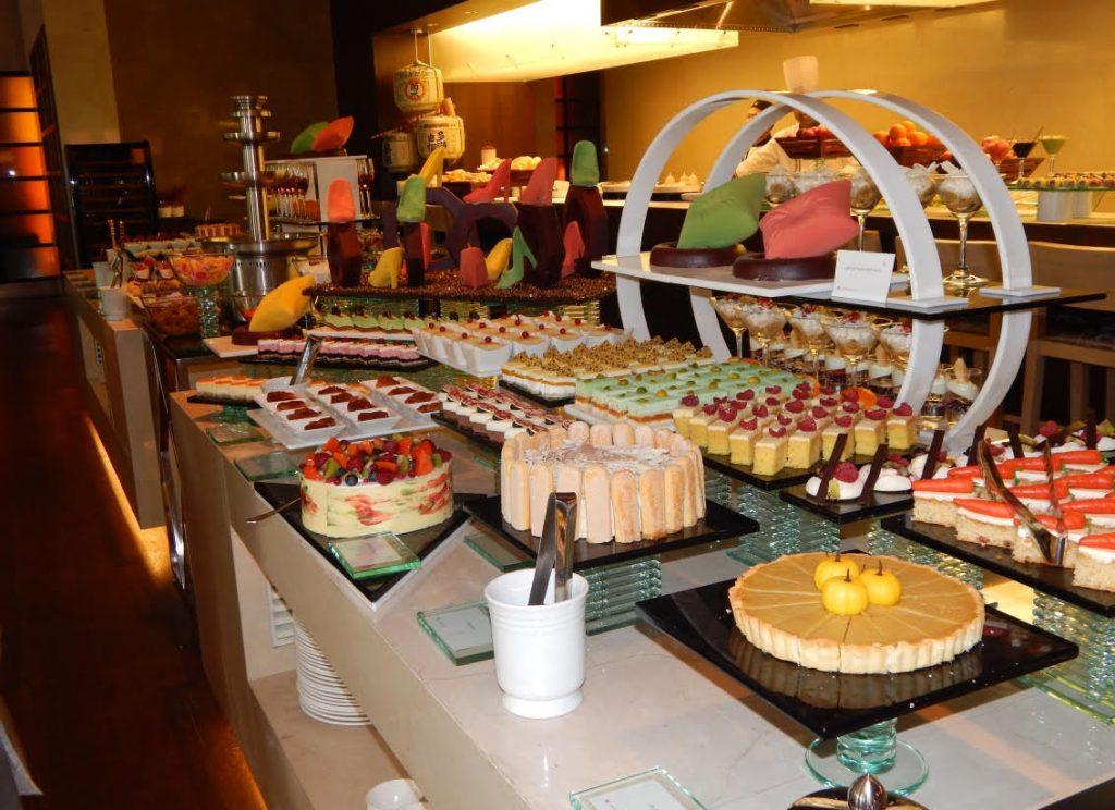The buffet spread at Vivanta by Taj at Dwarka in west Delhi. Photo: IANS