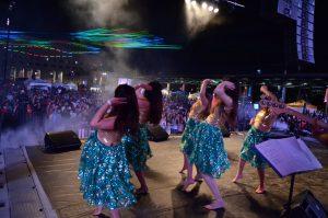Dance and lasers at Bollywood Monster Mashup Photo: IANS