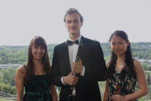 L to R: Andrea Pedro, Alexander Chernata, Julie Lin