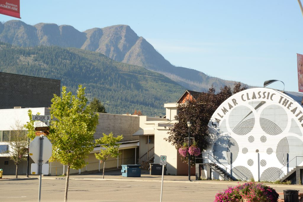 They call it Salmon Arm