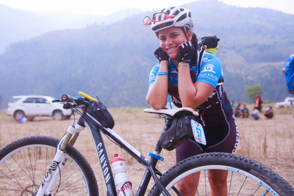 Portugal rider Sonia Lopes, the first woman cyclist to conquer the non-stop 500 km Portugal Bike Race, was the winner of the MTB Himalaya in 2014 in the women's category.