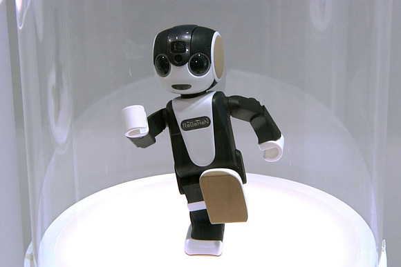 """Called """"RoboHon"""", it can take calls, dance, project photos, display maps and much more. (Photo - Martyn Williams - pcworld.com)"""