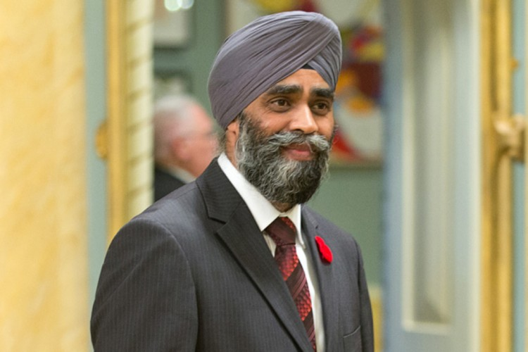 Canada's newly appointed Sikh Defence Minister Harjit Sajjan