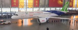 China's first big passenger plane rolls off production line