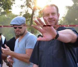 Agra: Actor Leonardo DiCaprio visits the Taj Mahal in Agra on Oct 31, 2015. (Photo: Pawan Sharma/IANS)