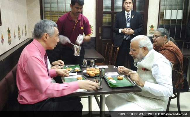 This picture was tweeted by @narendramodi
