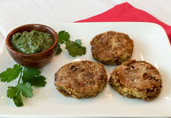Almond and Yam Cutlets