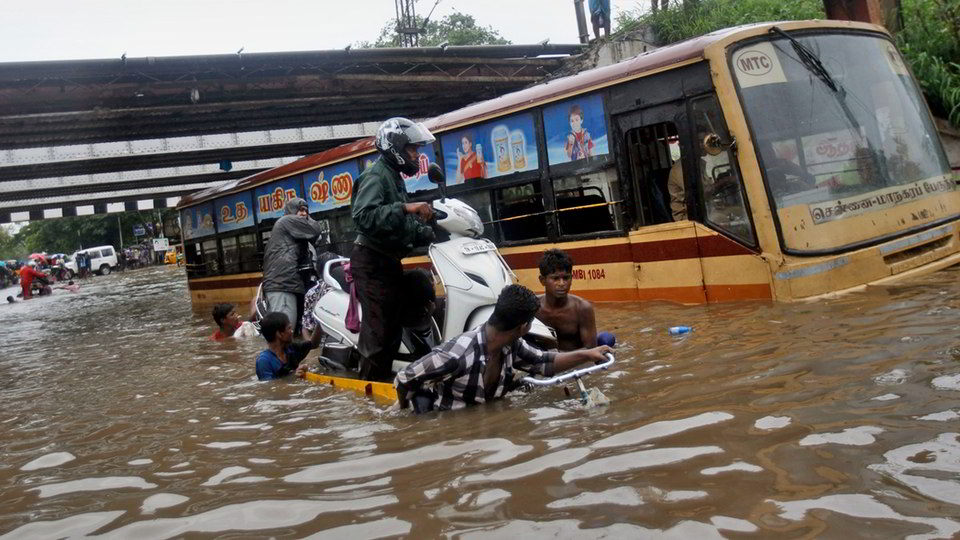 Rains, floods devastate Chennai; Rs.15,000 crore loss estimated