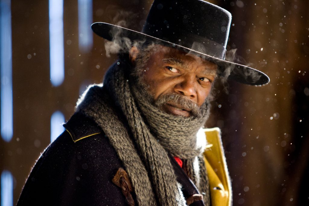 SAMUEL L. JACKSON stars in THE HATEFUL EIGHT an ENTERTAINMENT ONE release Photo: Andrew Cooper, smsp.