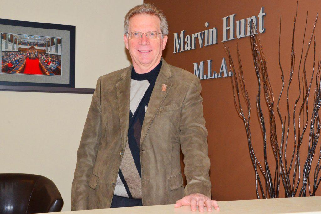 Marvin Hunt, MLA, Surrey-Panorama Photo: Ray Hudson