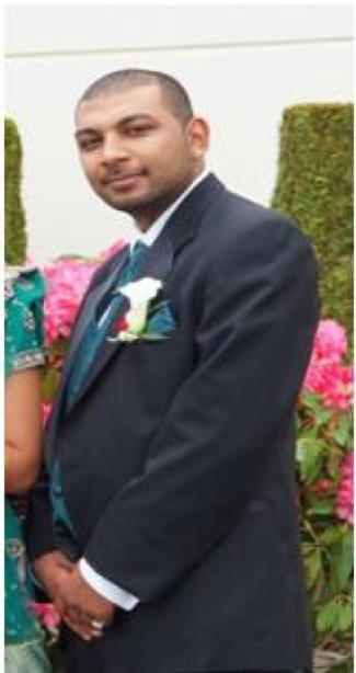 Vimal Chand found murdered in his vehicle in Surrey.