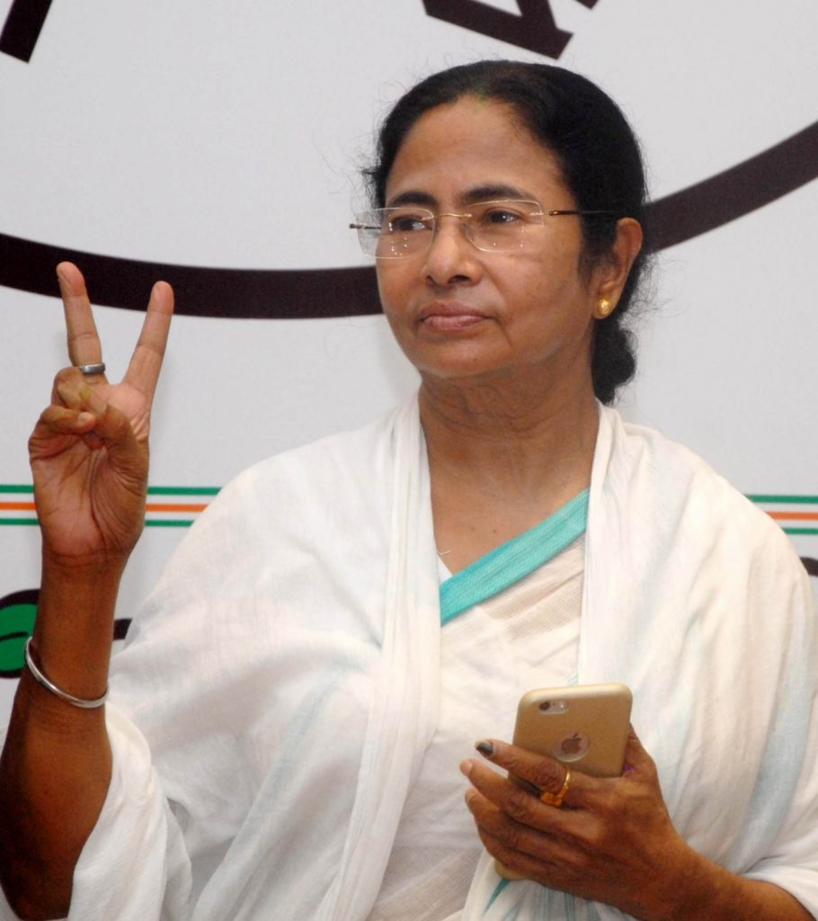 Kolkata: West Bengal Chief Minister and Trinamool Congress supremo Mamata Banerjee addresses a press conference regarding party's performance in the recently concluded 2016 West Bengal assembly Polls in Kolkata, on May 19, 2016. (Photo: IANS)