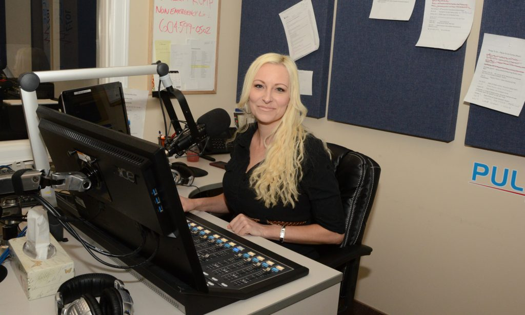 The midday show with Leah Holiove runs from 11 am to 3 pm on Pulse 107.7 FM