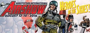 """New Art Image for the show enhances the """"Heroes of the Air"""" theme for 2016."""