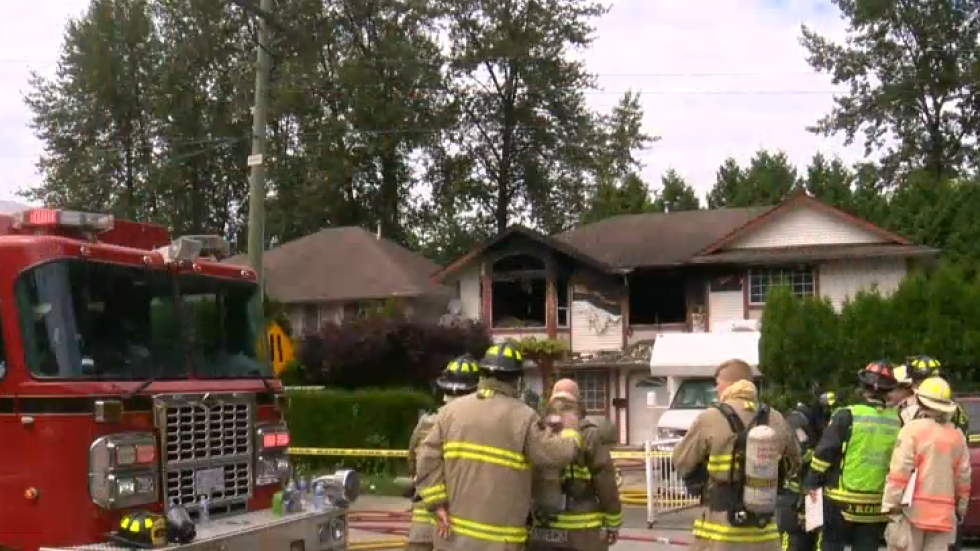 House fire in Port Moody
