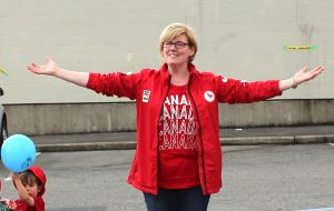 Minister of Sport & Persons With Disabilities, Carla Qualtrough.