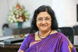 State Bank of India's chairperson Arundhati Bhattacharya