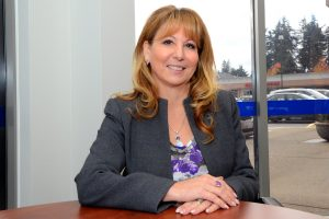 Dianne Watts, Member of Parliament in her South Surrey office. Photo: Ray Hudson
