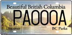 BC-parks-licence-plate-porteau-cove