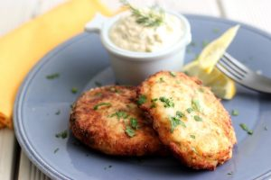 Fresh water fish cakes