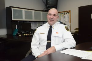 Mark Griffioen, Assistant Fire Chief, Emergency Planning.