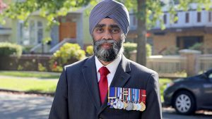 Harjit S. Sajjan Minister of National Defence, MP for Vancouver South